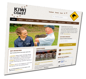 Kiwi Coast - website design Whangarei