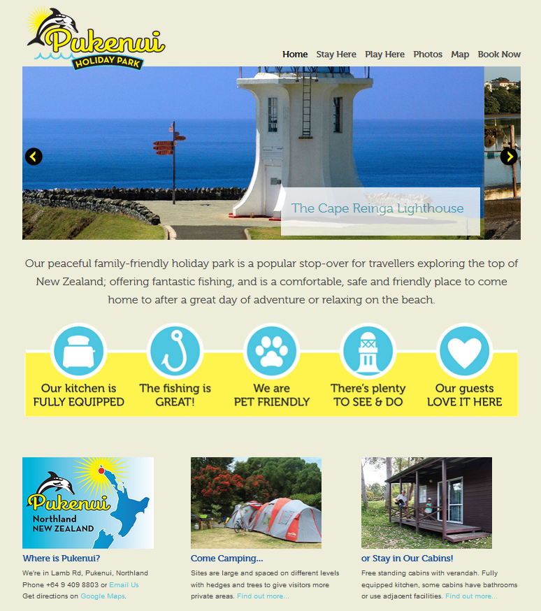 Accommodation Website