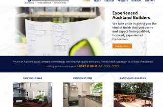 Building Industry Website
