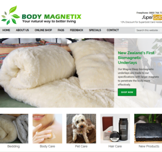 E-Commerce Health Website