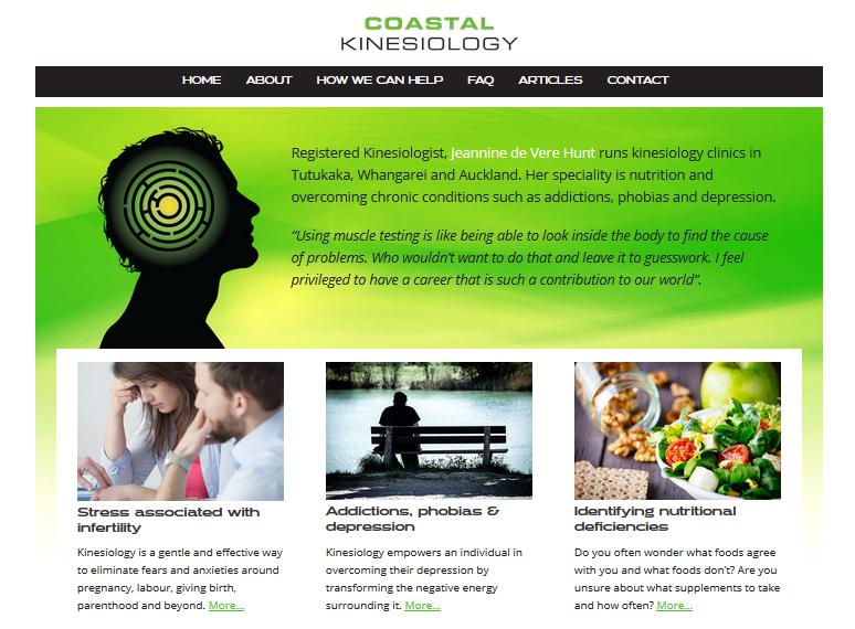 Health Practitioner website