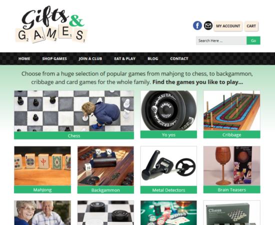 E-Commerce Website for Games