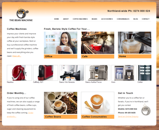 Real Coffee Website