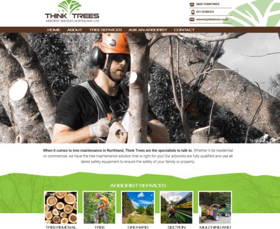 Think Trees website