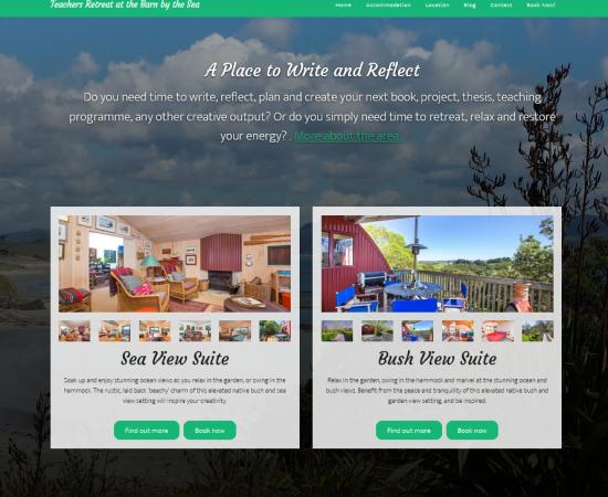 WordPress Accommodation Website