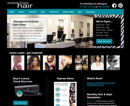 Website & Online Shop