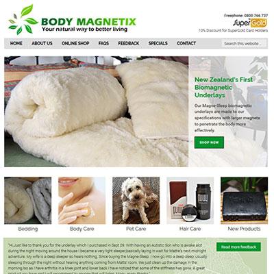 E-Commerce Health Website