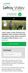 Lefroy Valley seeds website