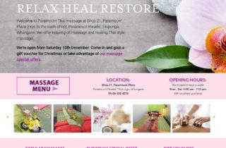 Thai Massage Website
