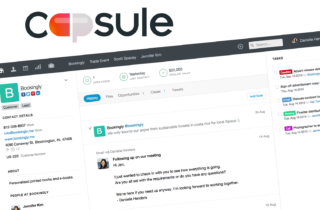 Capsule Best CRM for Small Business