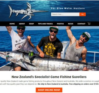 Game Fishing Website