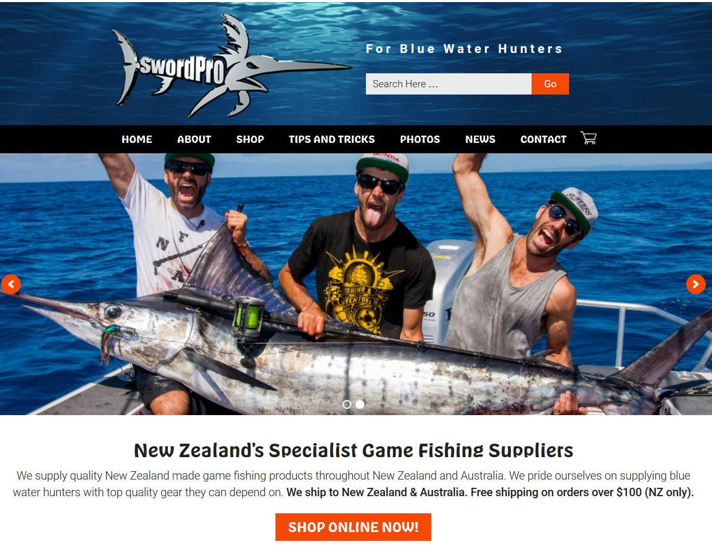 Game Fishing Website