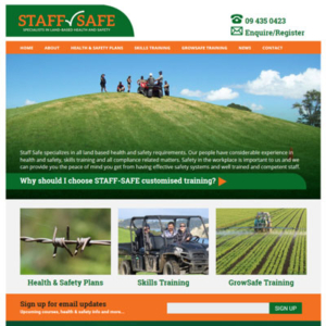 Staff Training Website