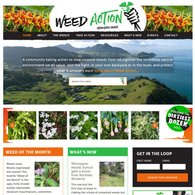 Weeds Website