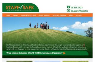 Staff Training Website