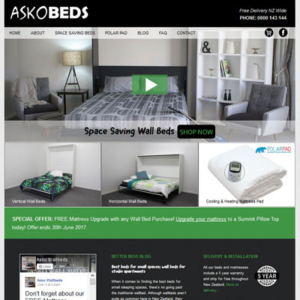 Wall Beds Website