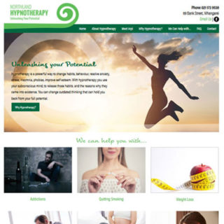 Hypnotherapy Website
