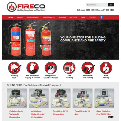 Fire Safety Website