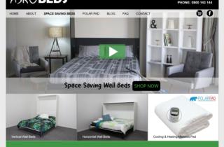Wall Beds Website