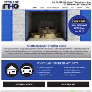 Storage Website