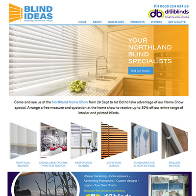 Blinds Website