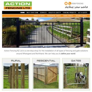 Fencing Website