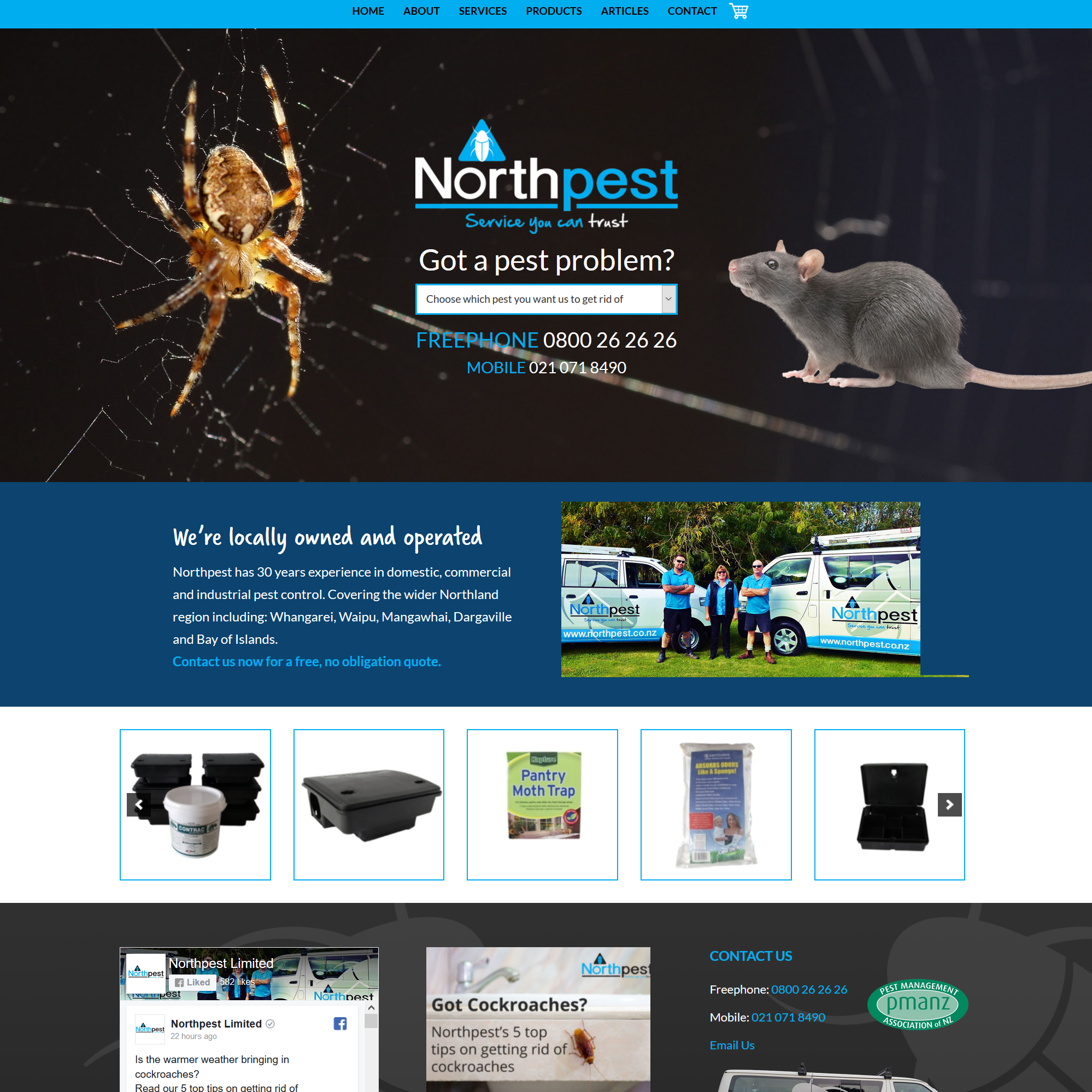 Northpest Website