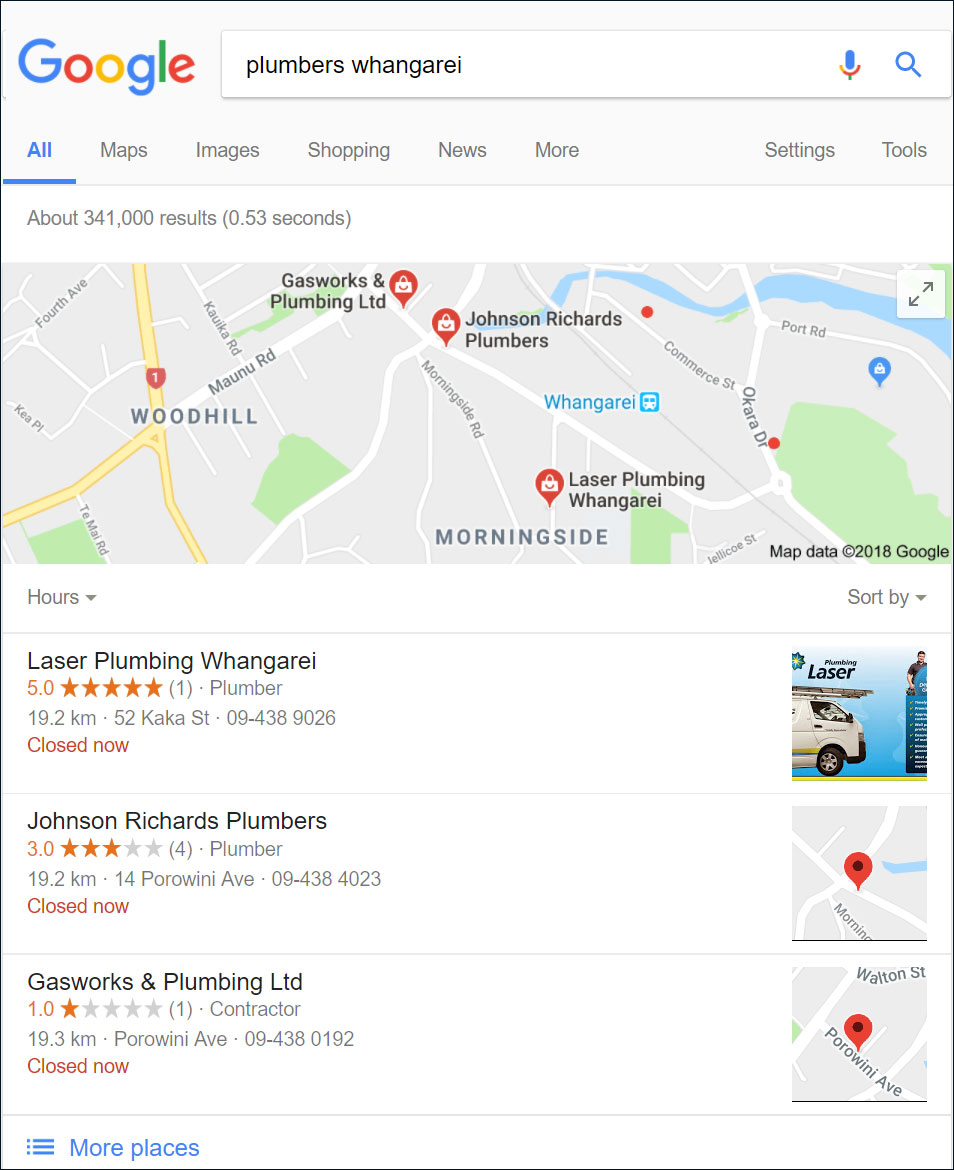 Google Map Listing >> Google Local Search Get On The Map