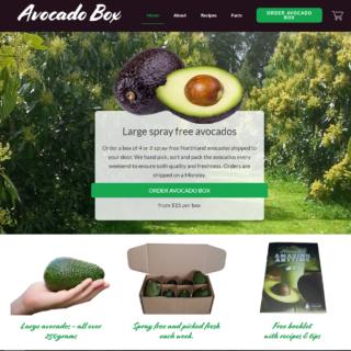 AvocadoBox Website