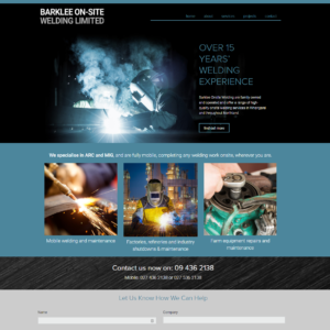 Welding Website