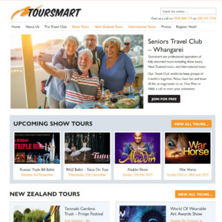 Tour Co. Website