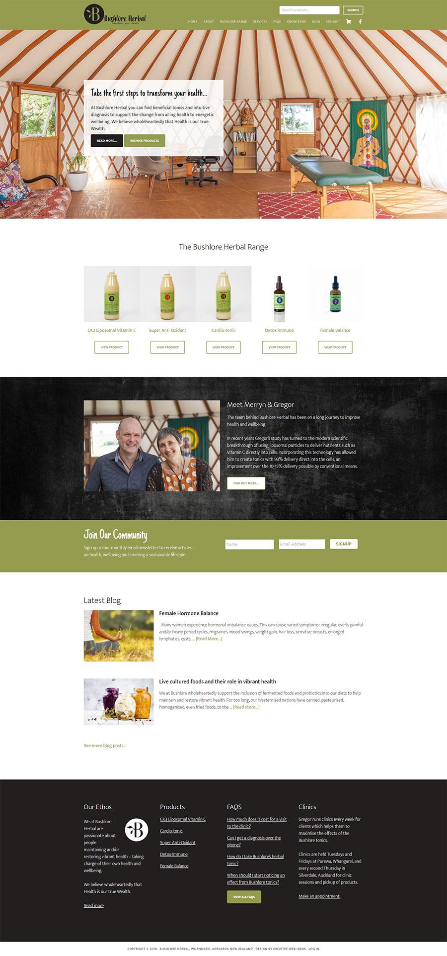 Bushlore Online Shop